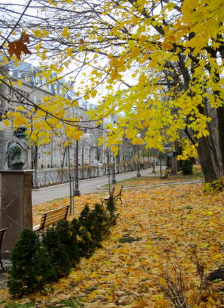 Québec (Stadt), Kanada: On a stroll through Old Town