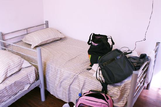 Footprints Hostel: My Bed (Double Room with Windows)