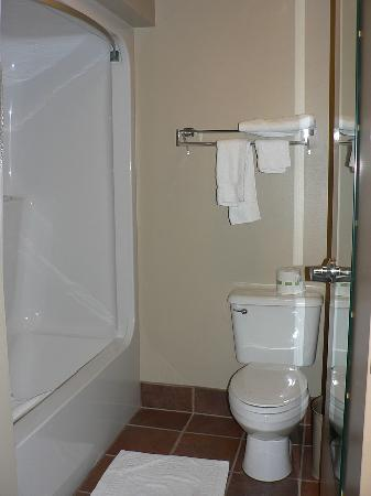 Howard Johnson Inn & Suites: Bathroom