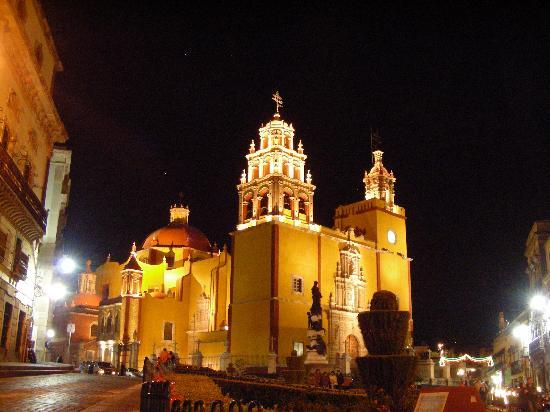 The Church of the Basilica in Guanajuato, Mexico
