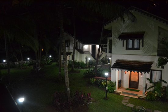 Miramar Residency: A night view of the residency