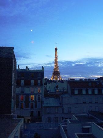 Taken from our room for Hotel jardins paris