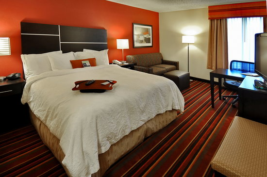 Hampton Inn Denver West / Golden: King Study Room