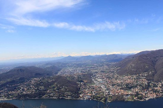 View over Como