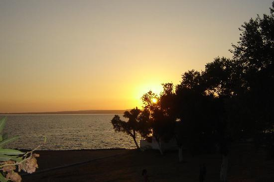 Didim, : Sunset