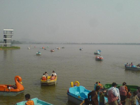 Chandigarh, Индия: SUKANHA LAKE