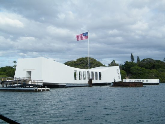 Honolulu, Hawaï : Arizona Memorial