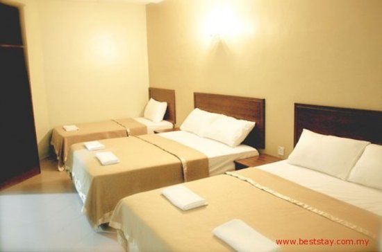 BestStay Hotel Pangkor Island: Superior Family - 2 x double, 1 x single