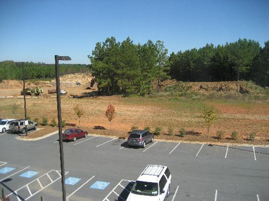 Holiday Inn Rock Hill: View From Our Room - Not Much!