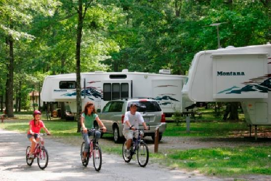 Chesapeake, VA: Camping at Northwest River