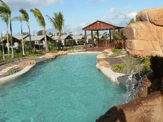 Tin Can Bay Australia  City pictures : Tin Can Bay, Australia: saltwater pool and spa in complex