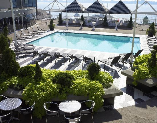 Radisson Admiral Toronto Harbourfront : the only outdoor pool in the city on the waterfront