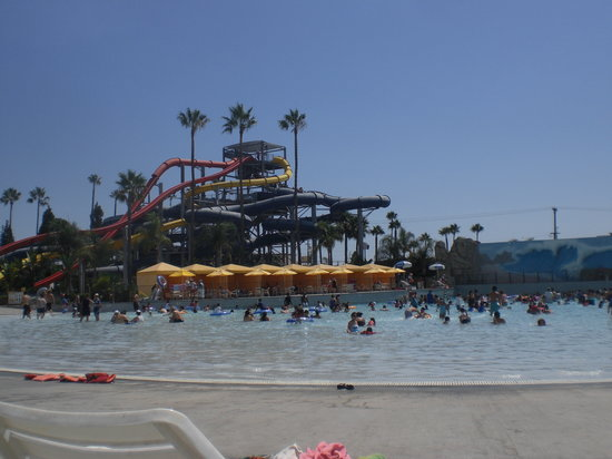 Buena Park, Kalifornia: soak city