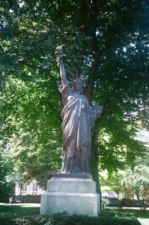 Statue Of Liberty Picture Of Luxembourg Gardens Paris Tripadvisor