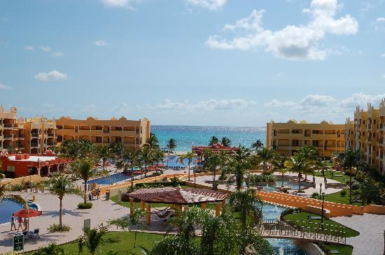 The Royal Haciendas: Beautiful view of the Carribean