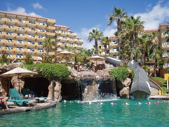 Pool With Whale Slide Picture Of Villa Del Palmar Beach Resort Amp Spa Los Cabos Cabo San Lucas