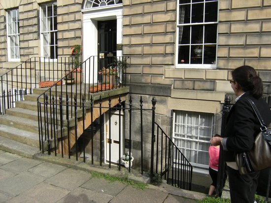 Photo of Bouverie Bed & Breakfast at 9b Scotland Street Edinburgh