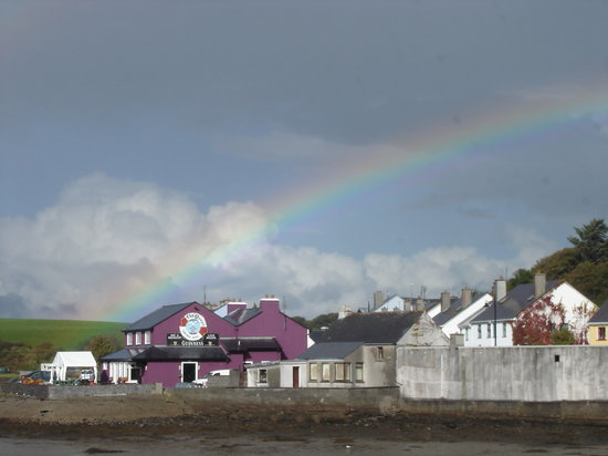 Rainbow in Westport
