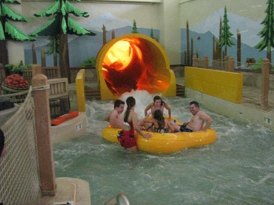 Great Wolf Lodge: The Tornado...a thrilling ride