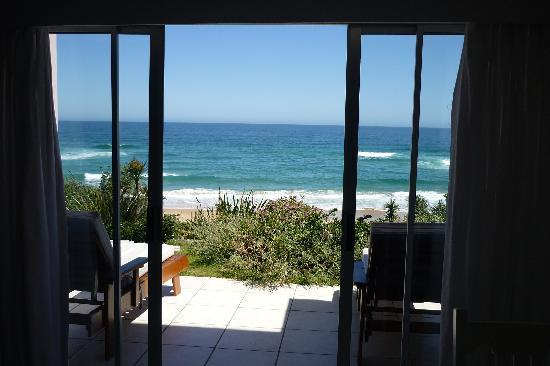 The Pink Lodge on the Beach: view from the room