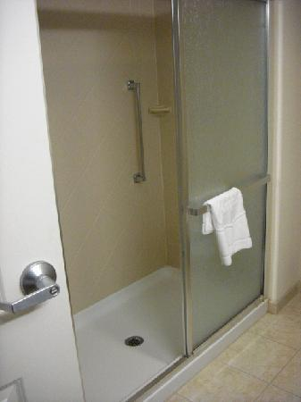 Hampton Inn Doylestown: Shower with doors