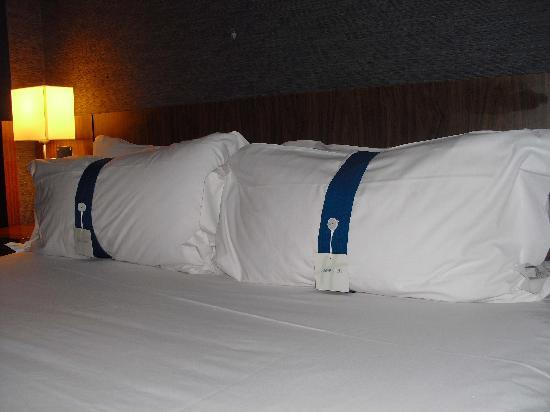 Holiday Inn Express Lisbon Airport: different types of pillows