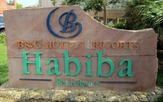 CLUB CALIMERA Habiba Beach: The main sign in front of the hotel. Need comments ?