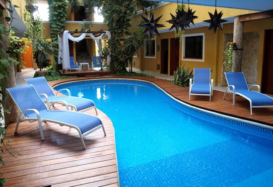 Hotel Las Golondrinas: piscina principal