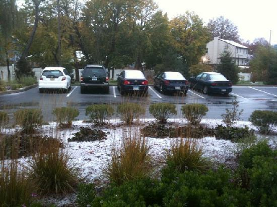 Quality Suites: First snow, Monday, Nov 8th 2010