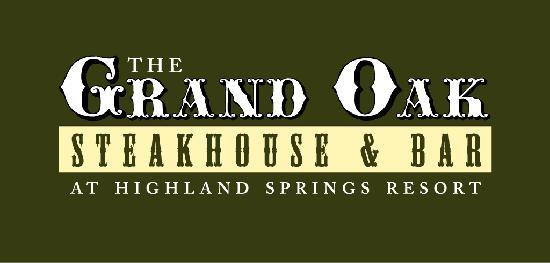 Highland Springs Resort and Conference Center: Named after the 1000 year old majestic oak tree on property