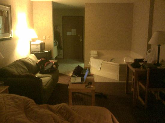 Comfort Inn: View of suite 1
