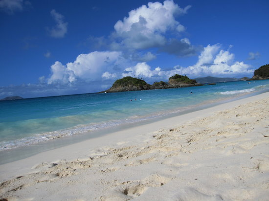 St. John: The beach!