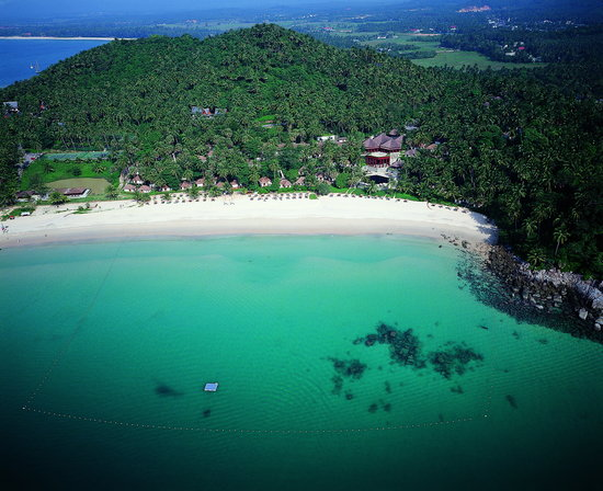 The Surin Phuket: Aeriel Image