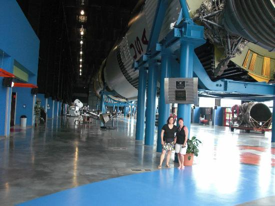 Extended Stay America - Huntsville - U.S. Space and Rocket Center: so riesig sind sie