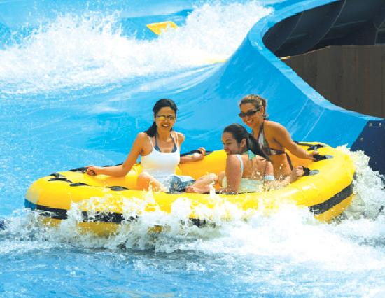 Santa Clara, Californië: Boomerang Bay Water Park at California's Great America