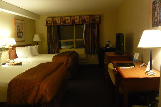 Richmond, Canada: Days Inn bedroom