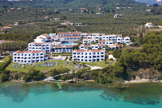 Louis Plagos Beach Hotel: Panoramic View