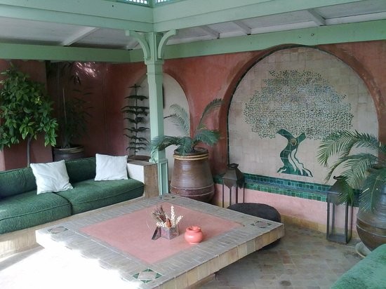 Le Riad Monceau: The roof top of Riad Monceau