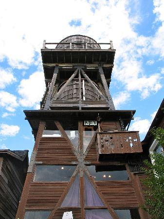 Mendocino, Καλιφόρνια: one of the many wooden water towers