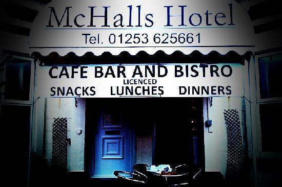 McHalls Hotel: (( pic with colour effect filter))