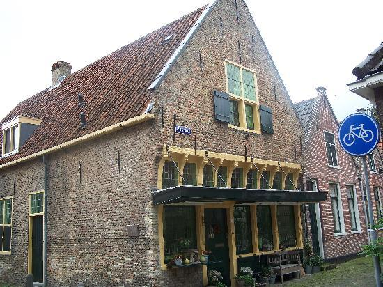One of the oldest houses in Alkmaar