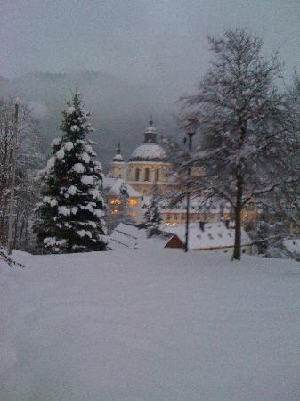 Ettal, Germany: View of the Abbey