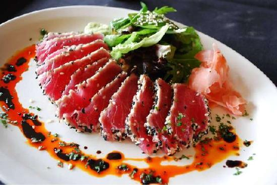 Sesame Seared Ahi Tuna - Picture of Chubby Trout, Elkhart ...