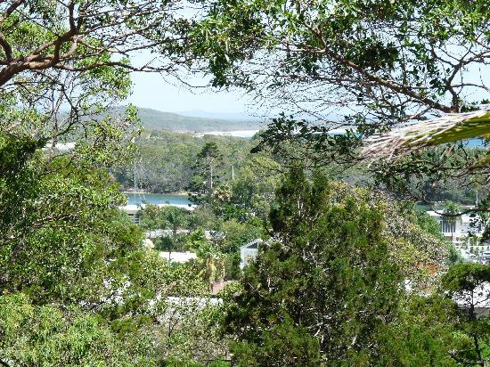 Macquarie Lodge: View from balcony