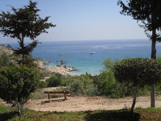 Konnos Bay Hotel Apartments: View from the Bar/Restaurant