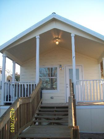 Hill Country Cottage and RV Resort: guadalupe cottage
