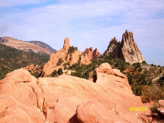 Colorado Springs, CO: Typisches Landschaftsbild im Garden of Gods