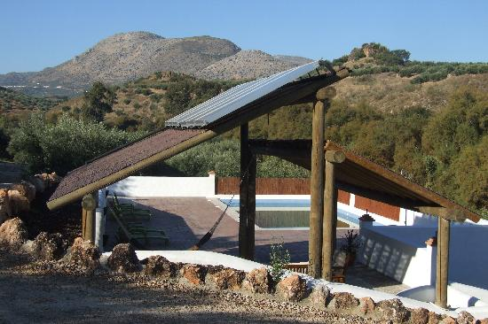 Casa Olea: Solar panels and biomass boiler for all under-floor heating and hot water