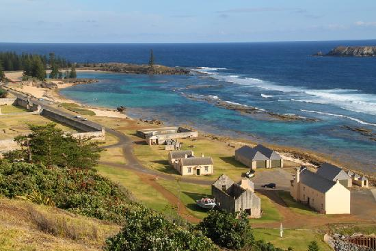 Norfolk Island, Australia: Kingston Beach & Emily Bay