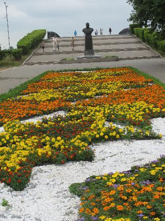 There are many monuments in and around Irkutsk
